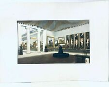Vintage The Art Gallery Room 36 Lithograph Austria Printed By Semercier, Paris