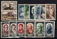 U140060/ FRANCE / 1950 COMPLETE YEAR / Y&T # 863 / 877 MINT MNH – CV 130 $