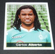 104 CARLOS ALBERTO WERDER BREMEN PANINI FUSSBALL 2007-2008 BUNDESLIGA FOOTBALL