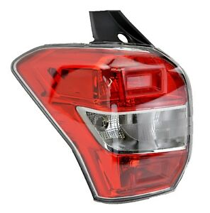 Tail light Subaru Forester S4 01/13-01/16 New Left LHS Rear Lamp Wagon 14 15 16