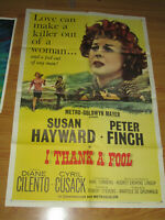 I Thank a Fool Original 1sh Movie Poster