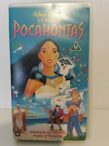 Pocahontas - Disney Classics - VHS Video