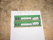 New listing 8Gb (2x4Gb) 2 - Skhynix 4Gb 1Rx8 Pc4-2133P Hma451U6Afr8N-Tf Memory