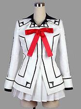 Vampire Knight Cosplay Costume Yuki Cross White or Black Womens dress suit