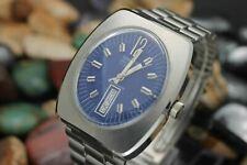 *NOS* Vintage GRUEN Precision Automatic Day Date Steel Men's Watch Full Set