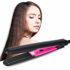 Hair Curling Iron Ceramic Corn Plate Electric Crimper Corrugation Styler Tools