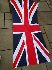 Vintage Ex army UNION JACK FLAG BRITISH MADE Approx 7ft  x 4ft  quality