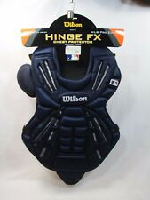 "WILSON BASEBALL CHEST PROTECTOR NAVY BLUE HINGE FX PRO EDITION A3310 SM 14"" NWT"