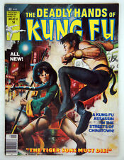 The Deadly Hands of Kung-Fu 1977 Jan Issue # 32, staring A Kung Fu Assassin NM+
