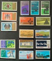 New Zealand. 4 x Definitive Stamp Sets. SG946+. 1970-73. MNH.  #AH309