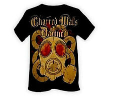 Charred Walls Of The Damned Gas Mask Music punk rock t-shirt  MEDIUM NEW