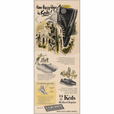 1948 Keds Shoes: Have Happy Days Vintage Print Ad