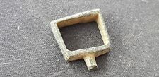 Superb stirrup type Medieval bronze buckle, Please read description. L106k