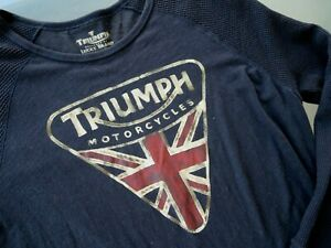Lucky Brand Triumph Graphic thermal sleeves Long Sleeve shirt Mens Size Large L