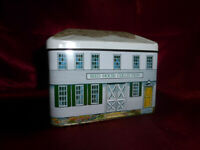 W Atlee Burpee & Co Seed Collection HOUSE SHAPED NOVELTY TIN Food Advertising