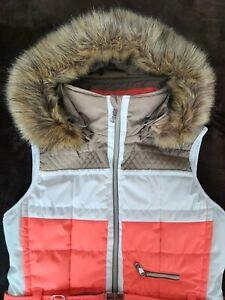 Poivre blanc women ski vest size L
