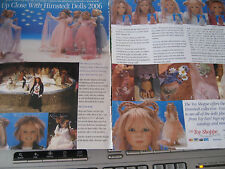 2006 Annette Himstedt 2pg Doll MAGAZINE Ad ADVERTISEMENT ONLY