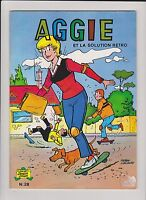 Aggie n°28. Aggie et la solution retro. SPE 1986. TBE