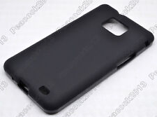 Black Matting TPU Silicone CASE Cover For Samsung Galaxy S II S2 I9100