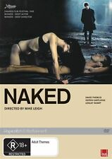 Naked (DVD, 2008) DIRECTED BY MIKE LEIGH LIKE NEW CONDITION FREE FAST POSTAGE