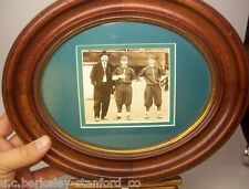 Framed 1915 San Francisco SEALS PCL Baseball Photo HARRY HEILMANN in Pinstripes!