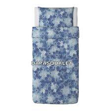 IKEA GULDLIN VAXT - Duvet Cover and Pillowcase Twin Blue