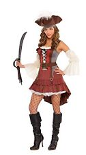 Castaway Pirate Halloween Costume for Women, X-Large