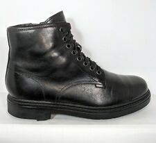 CAMPER Neuman Smart Black Full Grain Leather Lace up Ankle Boots EU 39