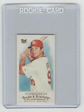DAVID FREESE Cardinals 2009 Topps Allen & Ginter MINI BAZOOKA BACK SP RC #17/25