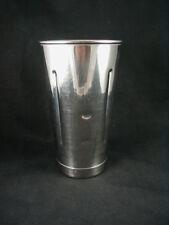 Vintage Malt/ Milk Shake Stainless Steel- Mixing Cup (s)- w/ Bottom Lip