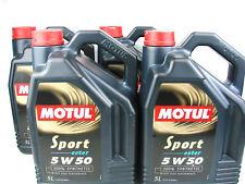 5 litros Motul Sport 5w50 aceite motores (esterbasis)