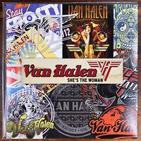 "Van Halen She's The Woman / Brown M&M's 7"" Vinyl 45 PS PROMO ONLY INTERVIEW /700"