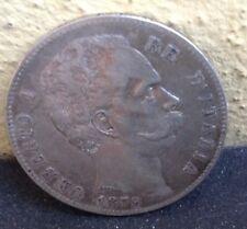 Moneta Lire 5 Argento 1879 Umberto I Re D'italia