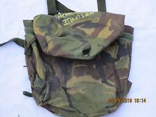 Haversack Respirator, DPM, IRR, masques à gaz sac, British Army, daté CQC 1992, #10