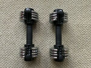 Weider Powerswitch 12.5 X2 Dumbbell Adjustable Weight Lifting Training