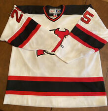 MENS XXL - Vtg NHL New Jersey Devils #25 CCM Away Jersey