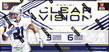 2016 PANINI CLEAR VISION FOOTBALL GRIDIRON NFL FACTORY SEALED HOBBY BOX NEW WOW!