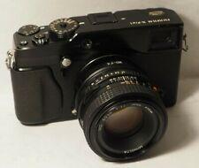 Fujifilm X Series X-Pro1 16.3MP Camera + 50mm F1.7 Minolta Lens + 16Gb
