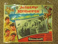 Vintage Mexican Mister Roberts Movie Lobby Card- In Spanish- Jack Lemmon