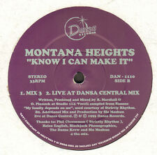 MONTANA HEIGHTS - Saber I Can Make It - dansa