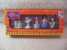 DISNEY THE HUNCHBACK OF NOTRE DAME FESTIVAL OF FOOLS PUT N PLAY FIGURES NIB