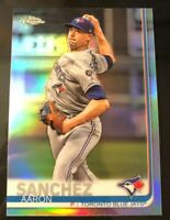 Aaron Sanchez 2019 Topps Chrome Refractor #132 Houston Astros Toronto Blue Jays