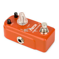 AZOR Compressor Super Mini Guitar Effect Pedal Ture Bypass Guitar Pedal Effects