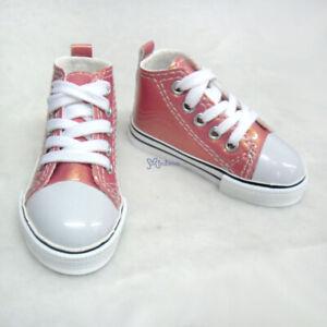 SHB032CHY Mimiwoo SD13 1/3 Boy Doll Shoes Metallic Sneaker Cherry  (Foot 8cm)