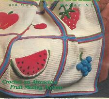 Fruit Medley Afghan crochet PATTERN INSTRUCTIONS
