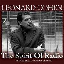 Leonard Cohen : The Spirit of Radio: Classic Broadcast Recordings CD (2014)