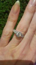 Gorgeous Certified 1.21ct(0.75ct) Judith Ripka Diamond Ring (£5785)