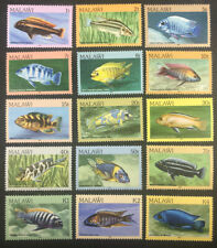 Stamp Vault - Malawi 427-441 MNH Full Set - 1984 - Mint Unused Fish