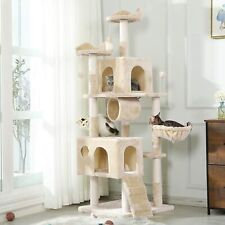 69'' high Cat Tree Tower cat play house Scratching Posts Large Cats Condo