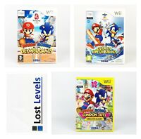 Wii - Mario & Sonic Olympic Games Series - Same Day Dispatched -*Multi Listing*